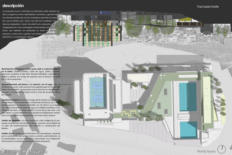 concurso desarrollo urbano caf cdu arepa arquitectura
