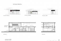 Secciones y fachadas - MCD La Trinidad
