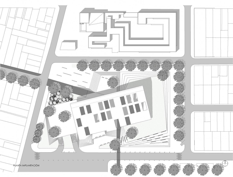 Concurso latinoamericano biblioteca central del for Biblioteca arquitectura