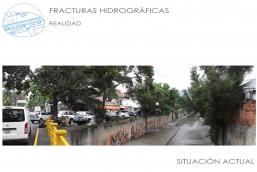 Fractura hidrografía situación actual - CLC