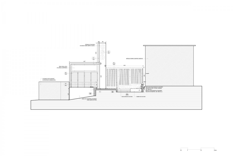 Sección acceso - CSD-1