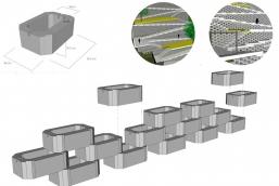 Esquema muro tako - CSD-1