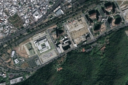 Foto satelital situación previa - HPA