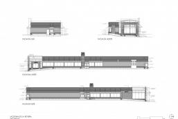 Secciones y fachadas - MCD La Boyera