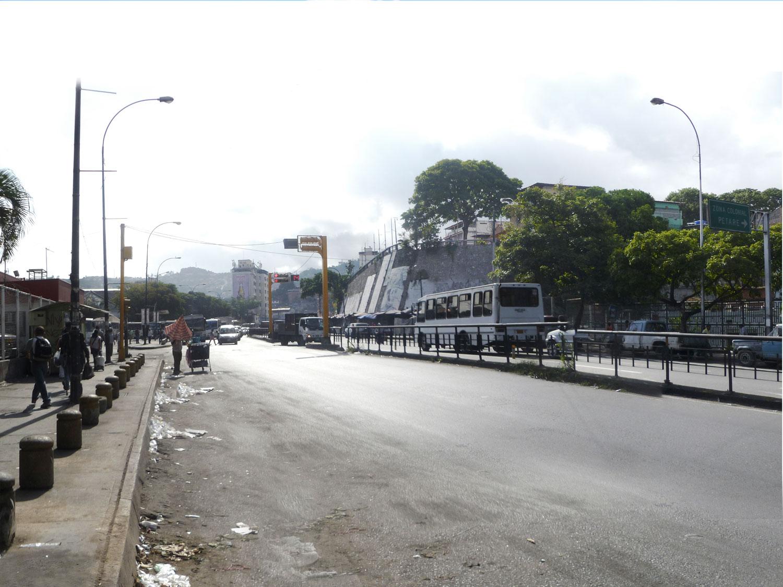 Foto avenida situación actual - ODP-S