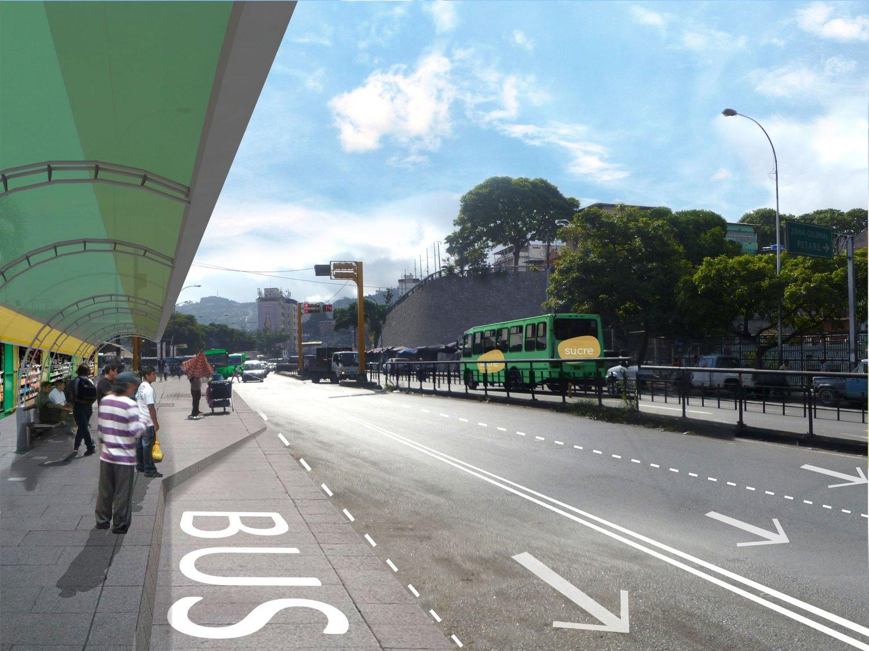 Vista avenida situación propuesta - ODP-S
