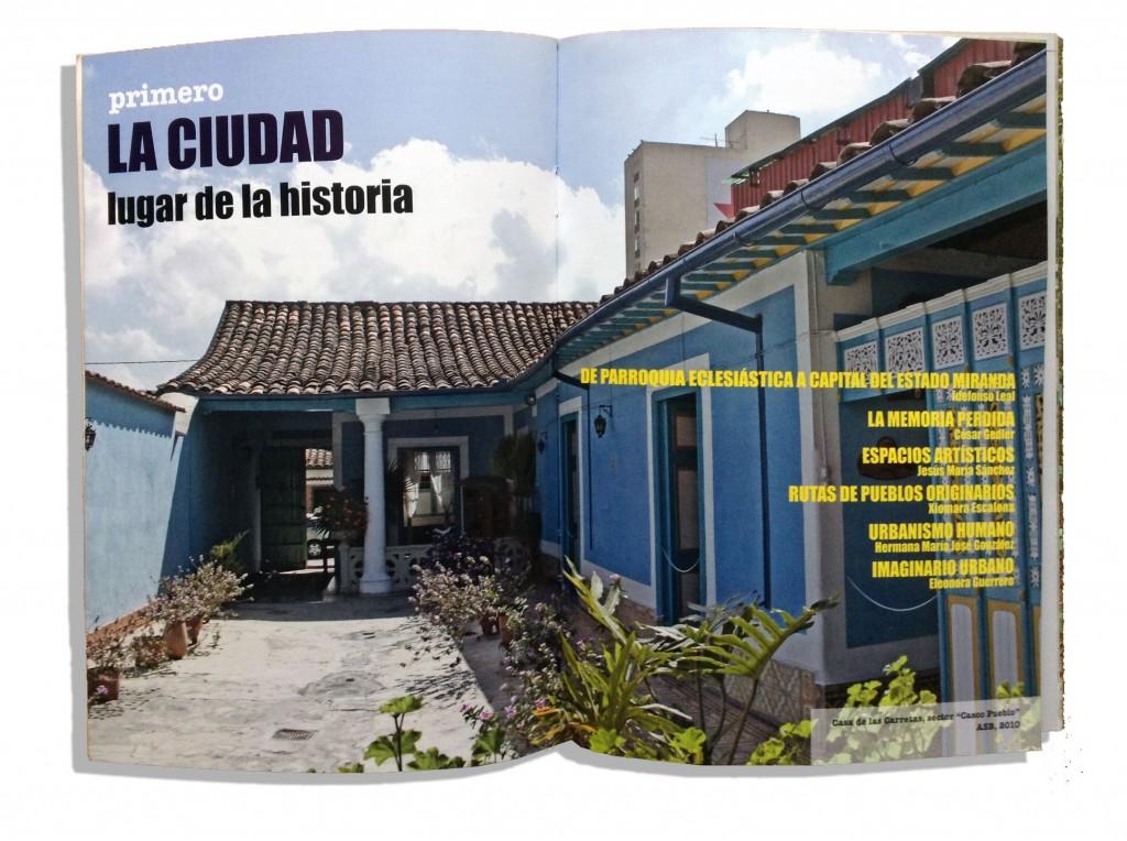 Páginas 24 y 25 del libro: Los Teques de la ciudad imprevista a la capital del cambio