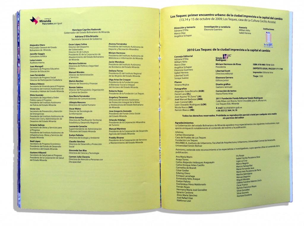 Páginas 302 y 303 del libro: Los Teques de la ciudad imprevista a la capital del cambio